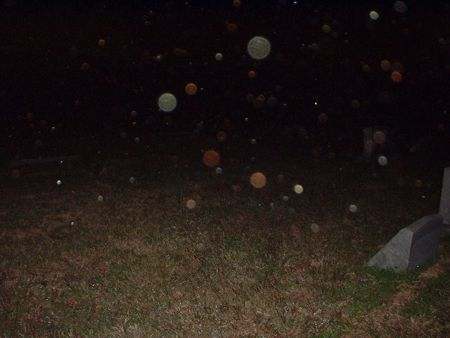 Ghost Sightings Orbs Caught In Cemetery Texas, Ghost Sightings