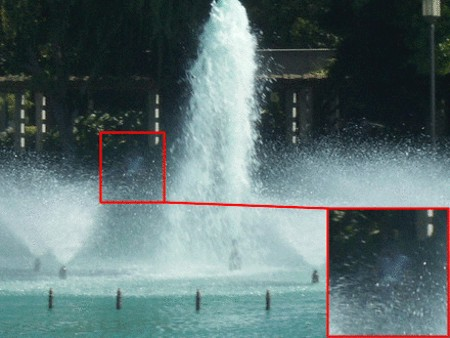 Ghostly Spirit Seen Hovering Above Waterfall, Ghost Sightings